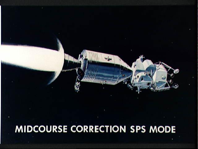 APOLLO LUNAR MODULE LM-CSM Docking (3) (アポロ/司令船・機械船と月着陸船の ...