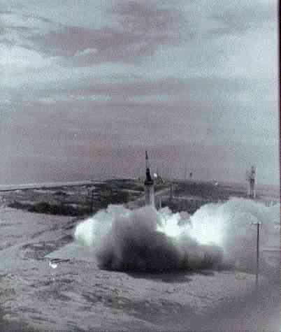 Image result for mercury lj-5a launch